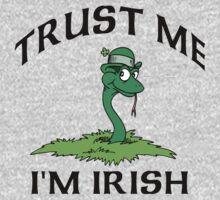 """Funny Irish """"Trust Me I'm Irish"""" One Piece - Short Sleeve"""