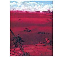 Neon Genesis Evangelion / End of Evangelion - Poster Photographic Print
