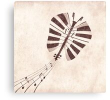 Butterfly Jazz Canvas Print