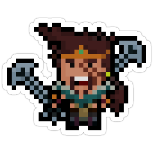 Pixel League Master Draven by Pixel-League