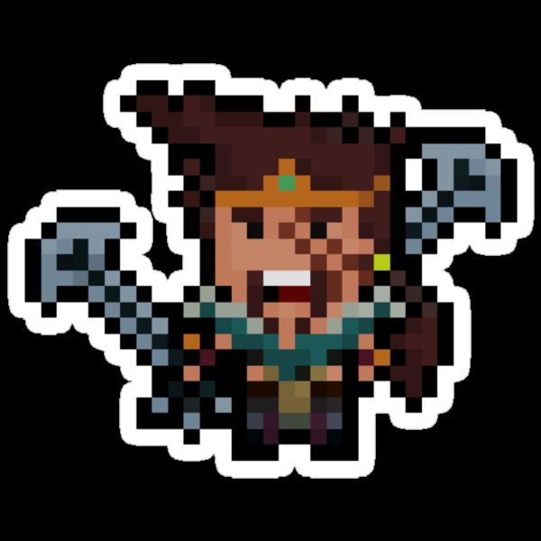 Pixel League Master Draven by Pixel-League