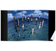 Neon Genesis Evangelion - CONGRATULATIONS - 2015 1080p Blu-Ray Cleaned Upscales Poster