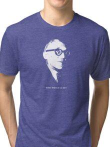 What would le Corbusier do? Architecture T shirt Tri-blend T-Shirt