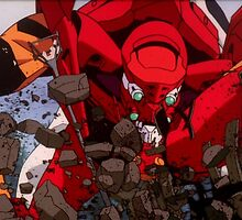 Neon Genesis Evangelion - Evangelion Unit-02 - 2015 1080p Blu-Ray Cleaned Upscales by frc qt