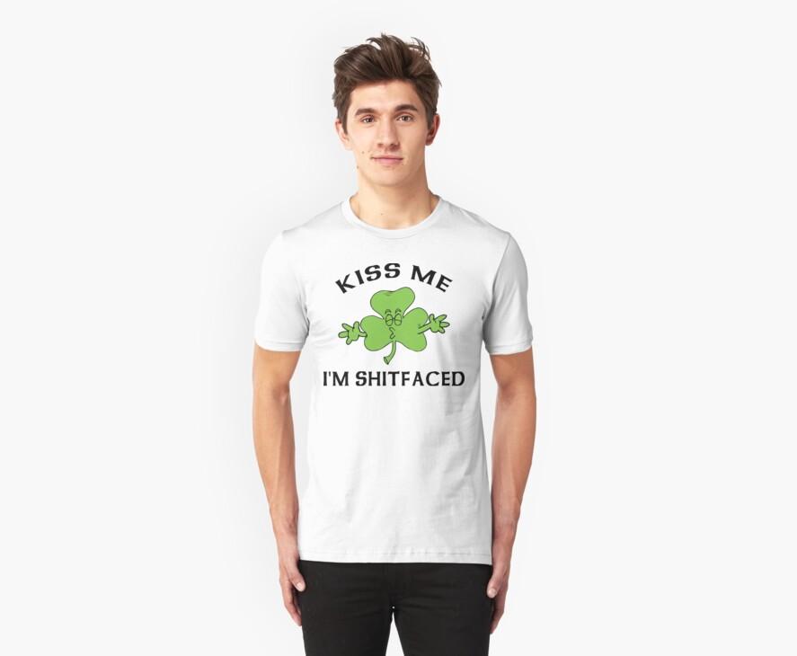 Irish Kiss Me by HolidayT-Shirts