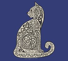Celtic Cat 8 by ingridthecrafty