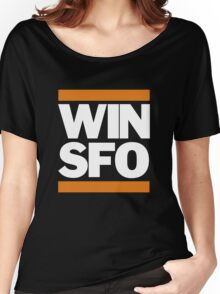 San Francisco Giants WIN SFO (adult size) Women's Relaxed Fit T-Shirt