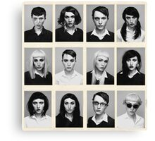 YEARBOOK (Complete Grid) Canvas Print