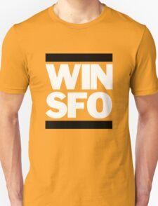 San Francisco Giants WIN SFO (adult size) Unisex T-Shirt