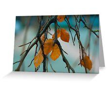Autumn Love Greeting Card