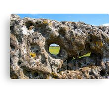 Rollright stone circle Canvas Print