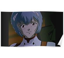 Neon Genesis Evangelion - Rei Ayanami - 2015 1080p Blu-Ray Cleaned Upscales Poster