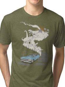 Fossils Refueled Tri-blend T-Shirt