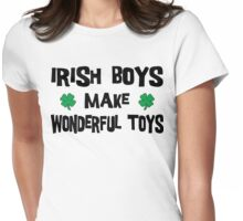Irish Boys Womens Fitted T-Shirt