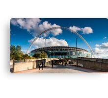 Wembley Stadium Canvas Print