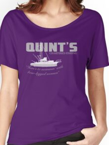 Quint's Chartered Fishing Women's Relaxed Fit T-Shirt