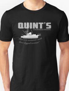 Quint's Chartered Fishing Unisex T-Shirt