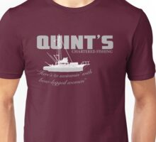 Quint's Chartered Fishing Unisex T-Shirt