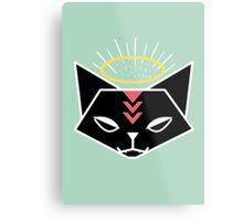 Cat Tribe 01 Metal Print