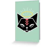 Cat Tribe 01 Greeting Card