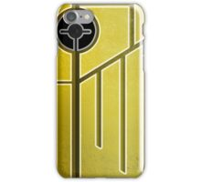 Yellow Grunge Abstract iPhone Case/Skin