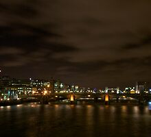 River Thames showing the new Shard by SteveHphotos