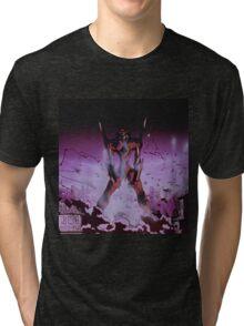 Neon Genesis Evangelion - Unit - 2015 1080p Blu-Ray Cleaned Upscales Tri-blend T-Shirt