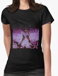 Neon Genesis Evangelion - Unit - 2015 1080p Blu-Ray Cleaned Upscales Womens Fitted T-Shirt