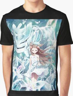 Pokemon - Jasmine - Steelix Graphic T-Shirt