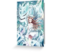 Pokemon - Jasmine - Steelix Greeting Card