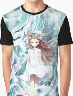 Pokemon - Jasmine - Steelix (no text) Graphic T-Shirt