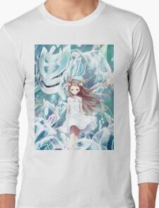 Pokemon - Jasmine - Steelix (no text) Long Sleeve T-Shirt