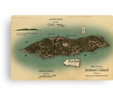 Jackson's Island from Huckleberry Finn Canvas Print