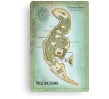 Skeleton Island from Treasure Island Canvas Print
