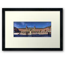Plaza Mayor Framed Print