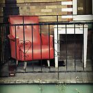 Red Chair by Caroline Fournier