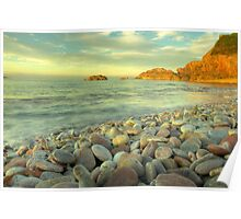 Breakwater Beach Poster