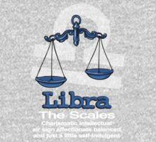 Libra The Scales centred One Piece - Long Sleeve