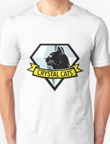 Crystal Cats Logo T-Shirt