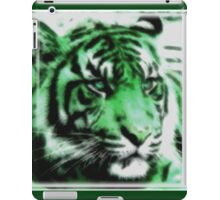 Green Tiger iPad Case/Skin