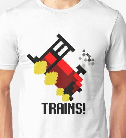 TRAINS! Unisex T-Shirt