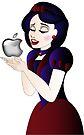 Snow White and Apple by Lauren Eldridge-Murray