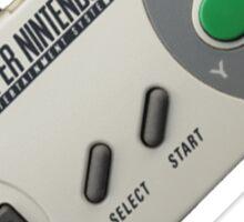 Super Nintendo Controller Sticker