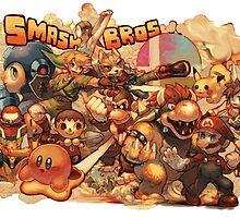Smash Bros by xWILLx
