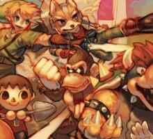 Smash Bros Sticker