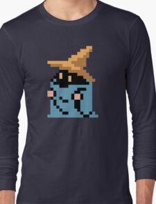 FINAL FANTASY - BLACK MAGE - RENDER (REDRAWN PIXEL) Long Sleeve T-Shirt