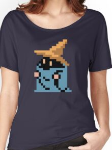 FINAL FANTASY - BLACK MAGE - RENDER (REDRAWN PIXEL) Women's Relaxed Fit T-Shirt