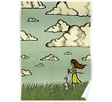 Girl Under the Clouds  Poster