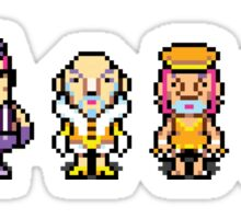 The Magypsies (Aeolia, Doria, Lydia, Phrygia, Mixolydia and Ionia) - Mother 3 Sticker