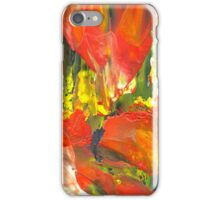 Flame Flowers iPhone Case/Skin